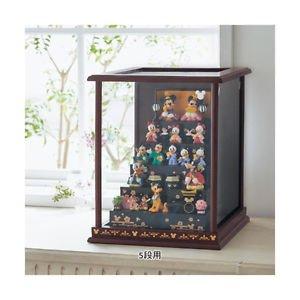 Disney Hina doll Dankazari full set + Display case � JAPAN limited Kimono Mickey