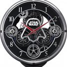 *RHYTHM WATCH Star Wars Darth Vader Automaton Clock Black 4MN533MC02 Japan NEW