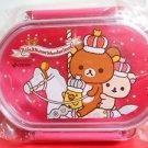 Rilakkuma Wonderland Merrygoround Pink lunch box case BENTO KYARABEN JAPAN FSNEW