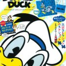 New Disney With Donald Duck Official Fan Book with Marin Tote Bag Japan Import