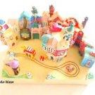 Toontown finished product! My Disneyland Diorama Model Miniature DeAGOSTINI F/S