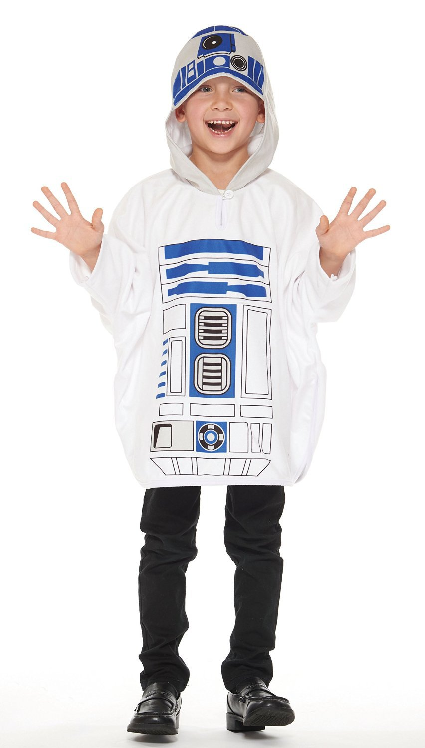 New Star Wars R2-D2 Poncho Kids Costume Unisex Length 56cm 95660 RUBIES JAPAN