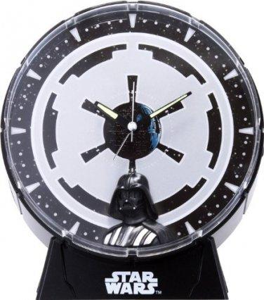 STAR WARS Darth Vader Alarm Clock Rhythm clock 4ZEA12EZ02 Japan NEWFree shipping