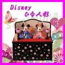Tokyo Disney Resort Mickey & Minnie Hina doll figurine 2015 JAPAN Hinamatsuri