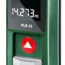 Free shipping Bosch PLR15 15m Digital Laser finder Rangefinder Distance Measurer
