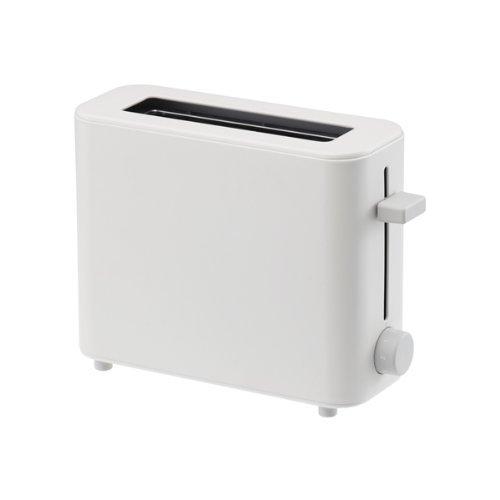 New Plus Minus Zero XKT-V030 Toaster White Japan