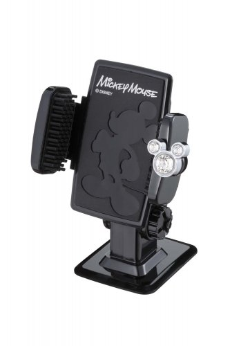 Disney Mickey Mouse Kawaii Cell Phone Holder WD-311 Car Accessory from Japan F/S