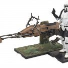 Bandai Star Wars 1/12 Scout Trooper & Speeder Bike Model Kit F/S from Japan