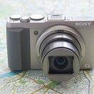 SONY Japan Cyber-shot Digital Camera DSC-HX50V Silver BUNDLE Set NEW EMS F/S!