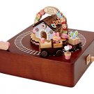 My Melody wooden music box (train) SANRIO from Japan Kawaii Free Shipping New