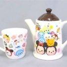 NEW Disney Tsumtsum premium Teapot & cup set MickeyTokyo JAPAN Free shipping