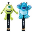 Dunlop Srixon Monsters University Head Cover Set Mike & Sulley Golf GGF-B0004