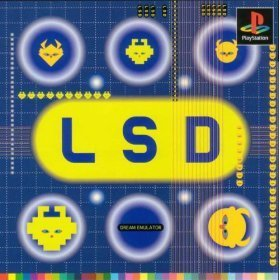 1998 Vintage Game Soft! Play Station LSD Japan Limited Import Rare NTSC-J F/S
