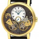 2014 SONNE x HAORI skeleton dial automatic winding Men's wrist Watch H004YG-SVFS