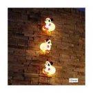 Disney Santa Mickey Mouse Blow Light 3P LED Christmas Illumination Decor JapanFS
