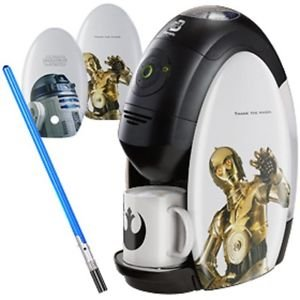 STAR WARS x NESTLE JAPAN Barista Coffee Machine maker Light side set R2-D2 NEWFS