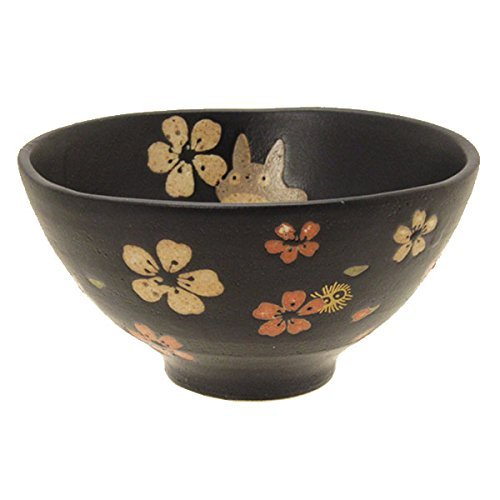 F/S My Neighbor Totoro Pottery Porcelain Mino Yaki Ware Rice Bowl Ghibli Chawan