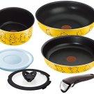 F/S T-fal pan frying pan set handle the take Disney Winnie the Pooh yellow set 6