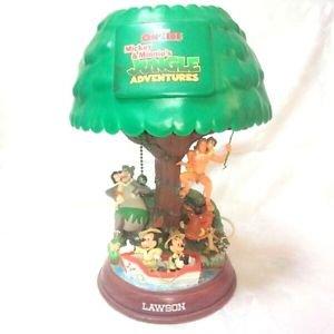 Rare!2002 Disney ON ICE Mickey & Minnie�s Original tree Room Light TarzanLAWSON