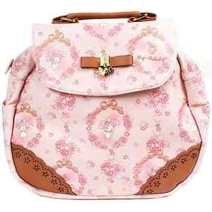 NEW Sanrio My Melody Rucksack School bag (Rose) Pink from JAPAN Free shipping!