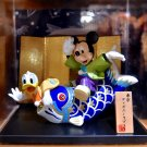 Tokyo Disney Resort Limited Mickey& Donald Duck of carp Hina dolls Figure FSNEW