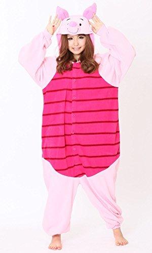 Costume adult fleece Disney Disney Winnie the Pooh Piglet rbj043 F/S NEW