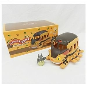 Totoro Nekobus Toy F/S MIB Present Studio Ghibli from JAPAN