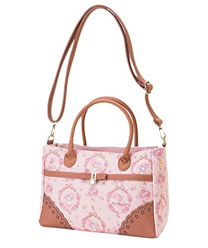 SANRIO My Melody 2WAY Tote Bag ROSE Pink Free Shipping From Japan Brand New !!