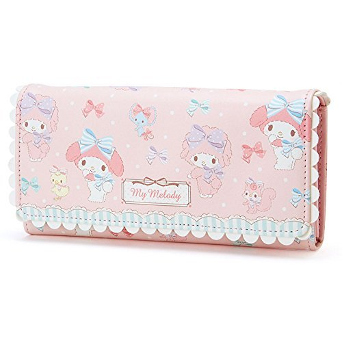 �SANRIO My Melody Long Wallet Pink purse (Ribbon Mate) FS Japan Brand New !�
