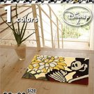 DISNEY Mickey Mini Room Entrance Door Mat Small Rug Carpet Made in Japan 50 x 80