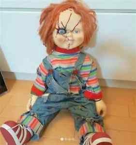 """Child's Play 29.5"""" Chucky Collection Doll Life-size Spencer Gift Co. Ltd.Figure"""