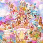 Disney Pure White Art Mickey Sweet Kingdam Jigsaw Puzzle 1000 Pieces Japan NEWFS