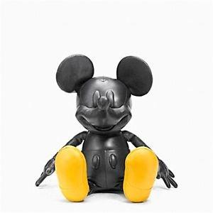 "COACH X DISNEY Mickey Mouse doll Plush Toys Medium 26""Leather Figure Japan FS"