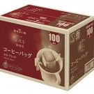 Maxim luxury easy Drip bag coffee 100 bags Mocha blend Japan
