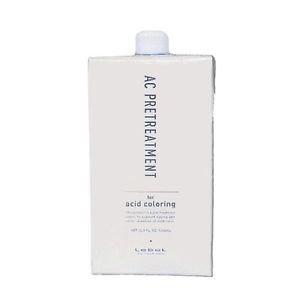 LebeL Hair care Ac pretreatment 1000ml For acidic color For Salon Japan