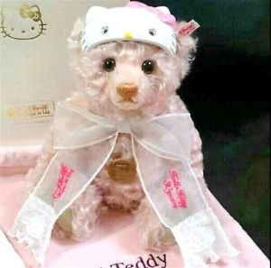 Steiff Kitty Teddy bear 30th Anniversary Fast Kitty World limited 1500 JAPAN