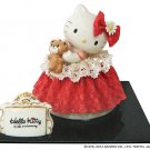 Hello Kitty 40th Pottery Lace Doll ornament Figures dress Japan Stuffed Plush FS