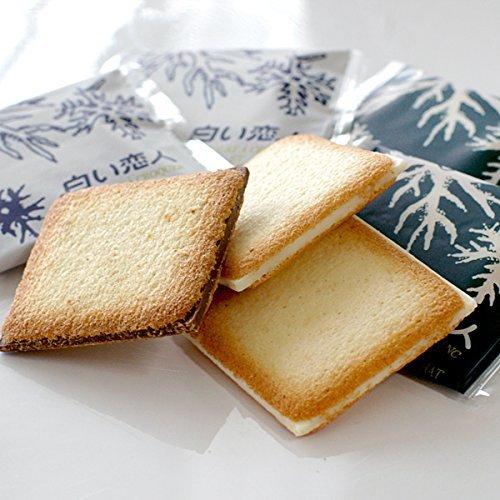 Shiroi Koibito white lover 54 pieces White and Black chocolate cookies Hokkaido
