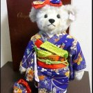Gift 2002 Steiff Chiyohime Japan limited Kimono teddy bear 1500 body only NEWFS