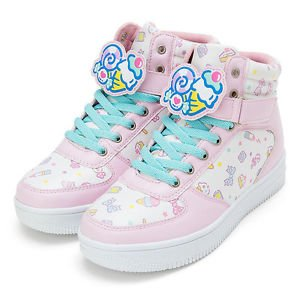 Fresh punch character clip with high-cut sneakers L size (US 7.5/ UK 6) SANRIO