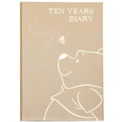 Deer Cars 10 years diary Winnie the Pooh (Disney) name into None F/S