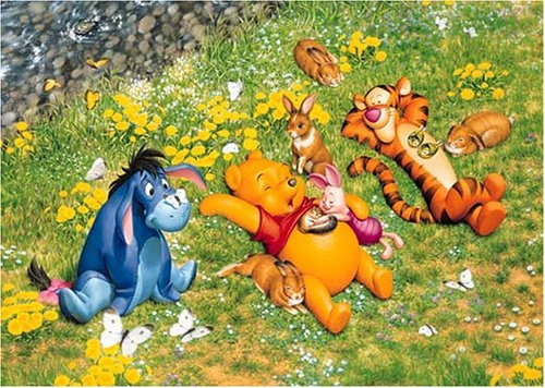 Tenyo Japan Jigsaw Puzzle D-1000-187 Disney Winnie the Pooh 1000 Pieces F/S