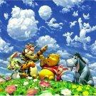 Disney Jigsaw Puzzle Pooh Blue Sky Fantasy D-1000-305 1000 Pieces Tenyo F/S