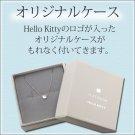 STOCK! Hello Kitty diamond Platinum Pierce from JAPAN NEW Sanrio FS