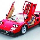 Lamborghini Countach LP 500S 1/8 Vol.1-80 complete SET+ Display Case Miniature
