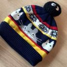 NEW Totoro Knit Hat for children Cap Kids Black Studio Ghibli from JAPAN FS