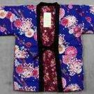 Women Hanten Blue peony Sakura Cherry blossoms chrysanthemum coat Roomware M FS