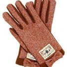 Kiki's Delivery Service Tweed gloves Gigi( Kiki) and roses for women FS NEW
