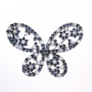 Blue Butterfly Brooch Sapphire & Blue Moonstone, Silver 950 from JAPAN FS NEW