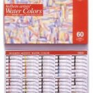 Brand New Holbein Artist's water Colors 60 color set W411 Best Deal Japan FS